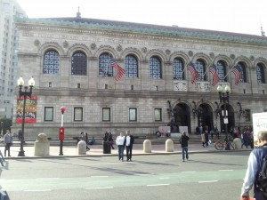 Photo of Boston Public Library