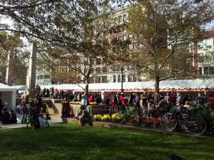Boston Book Festival in Copley Square