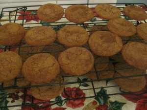 photo of cookies cooling on rack